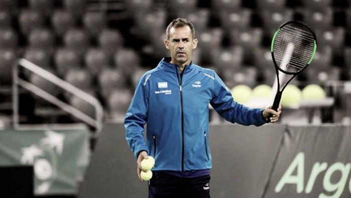 Orsanic anunció que seguirá al frente del equipo argentino de Copa Davis