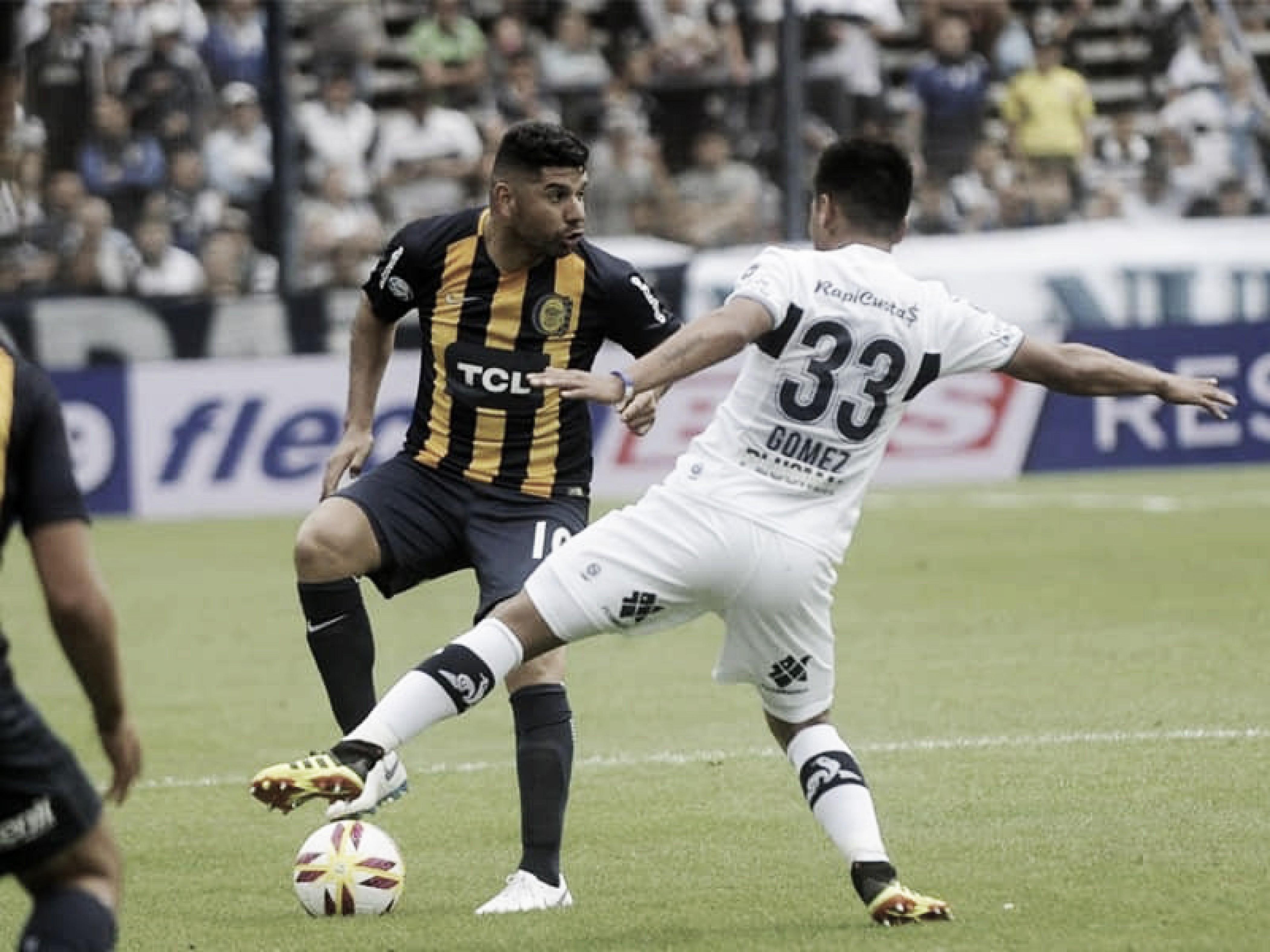 Gimnasia yRosario Central igualaron 1-1