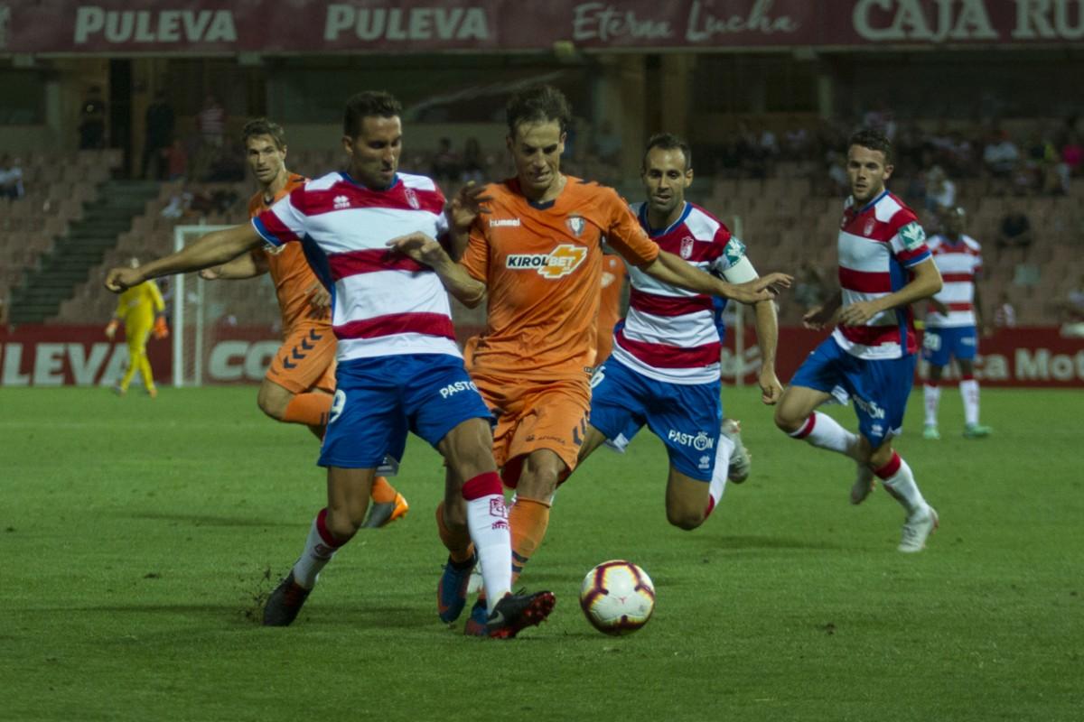 Pamplona, territorio complicado para el Granada CF