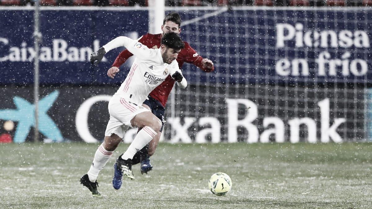 Análisis post: la borrasca frena al Real Madrid en El Sadar