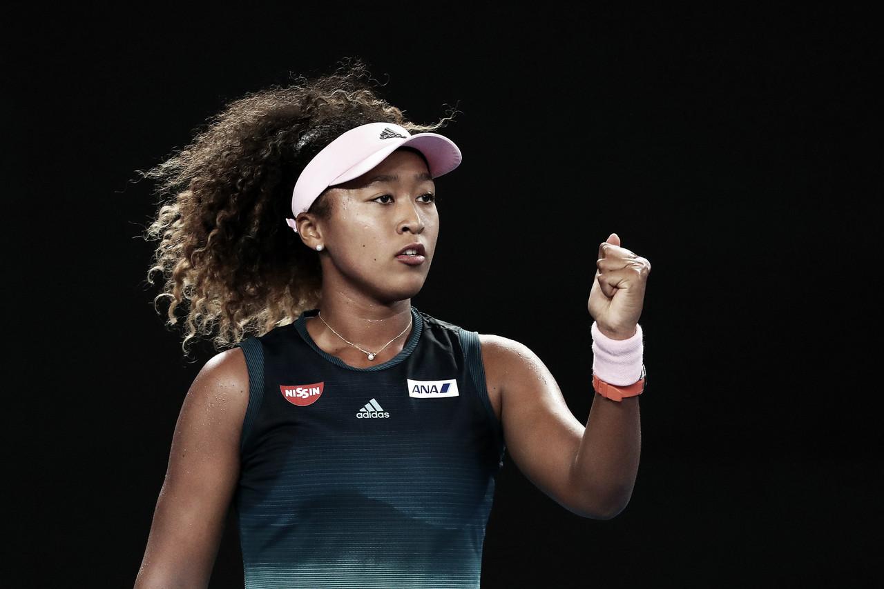 Osaka bate Zidansek e continua campanha segura no Australian Open