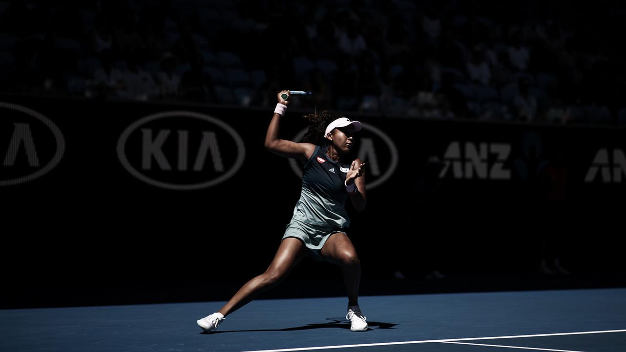 Osaka escapa de derrota contra Hsieh e avança às oitavas no Australian Open