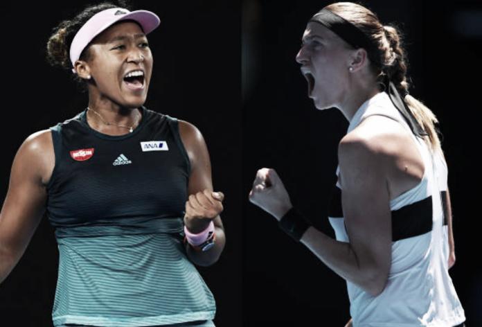 Osaka e Kvitova se enfrentam na final do Australian Open em disputa pelo topo do ranking