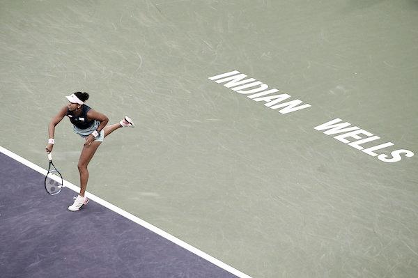 Osaka passa de forma segura contra Collins e avança em Indian Wells