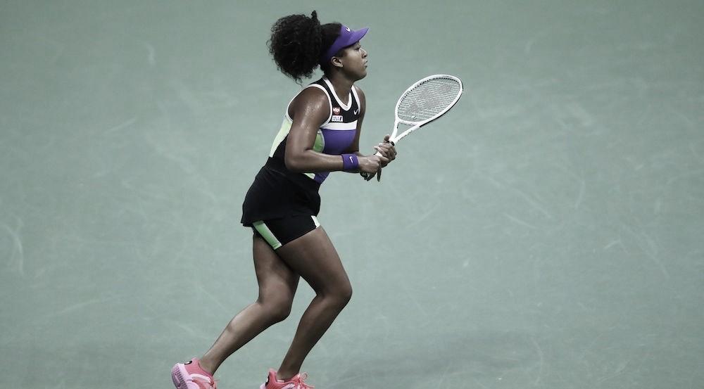 Osaka tem trabalho, mas bate compatriota Doi e avança no US Open