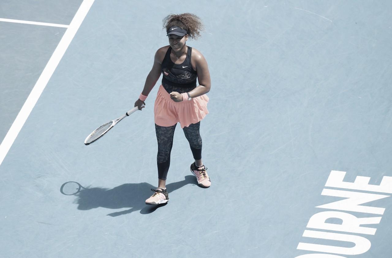 Osaka atropela Hsieh e se garante nas semifinais do Australian Open