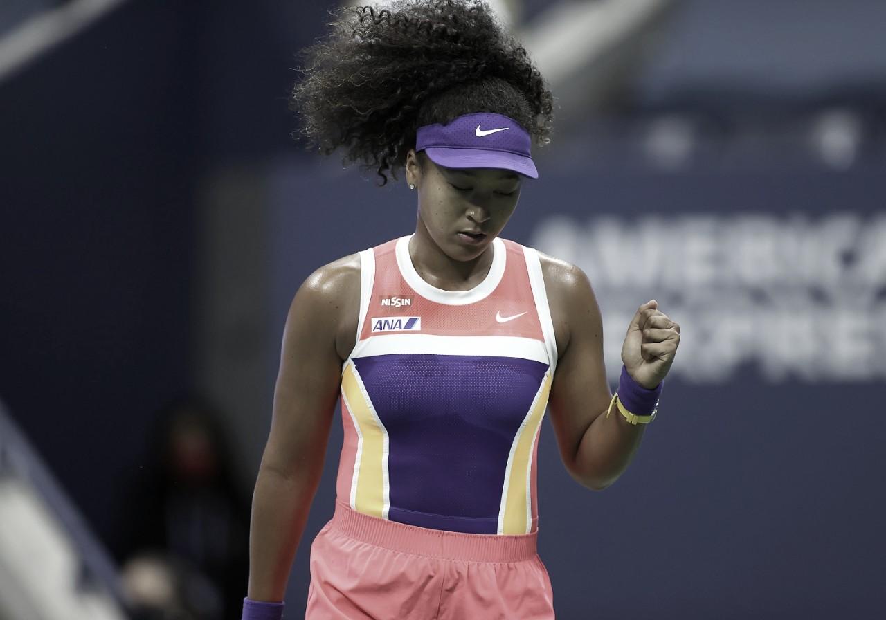 Em grande atuação, Osaka derrota Kontaveit em sets diretos e vai às quartas no US Open