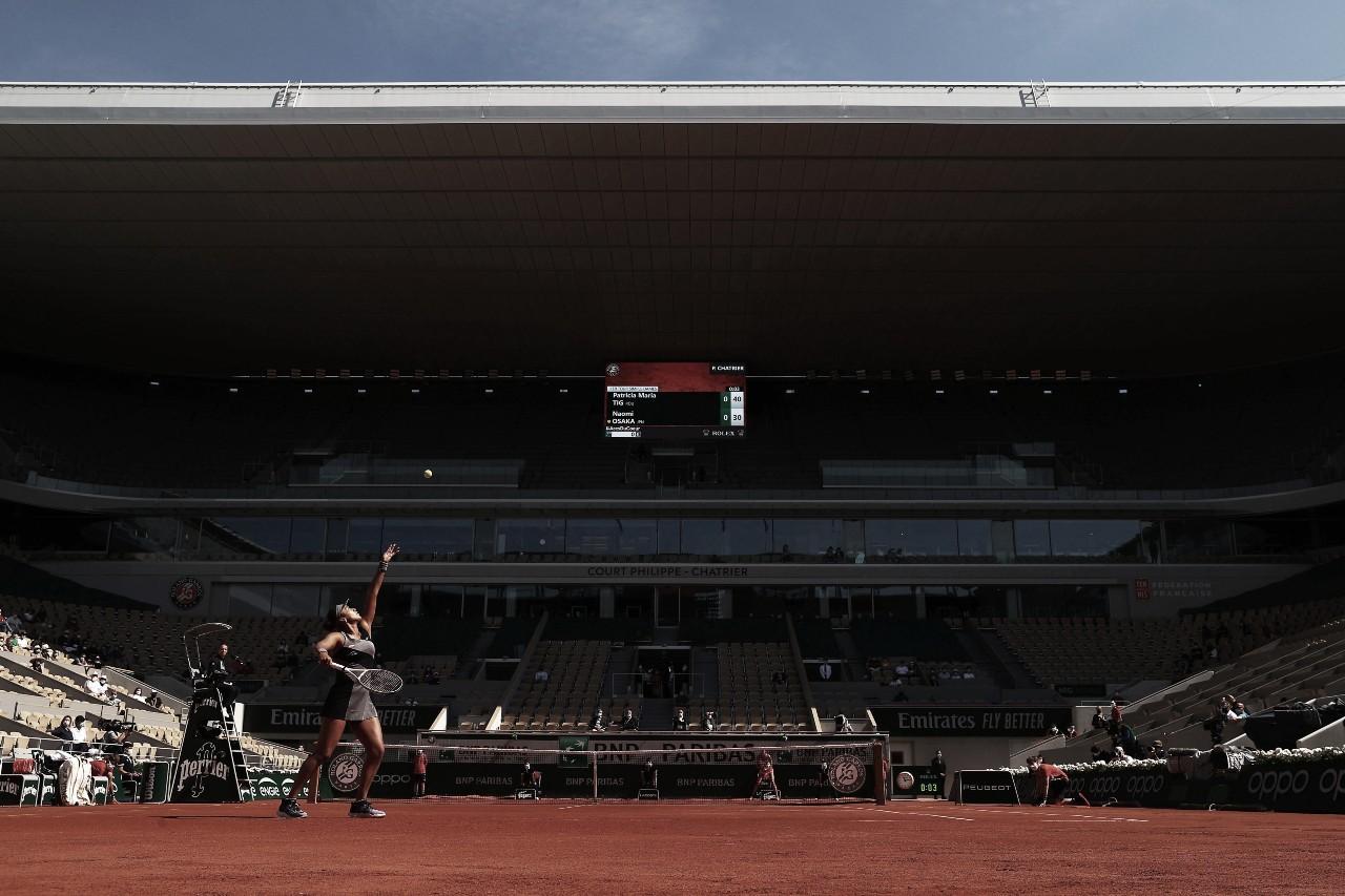 Em duelo equilibrado, Osaka bate Tig no primeiro dia de Roland Garros; Kerber perde feio