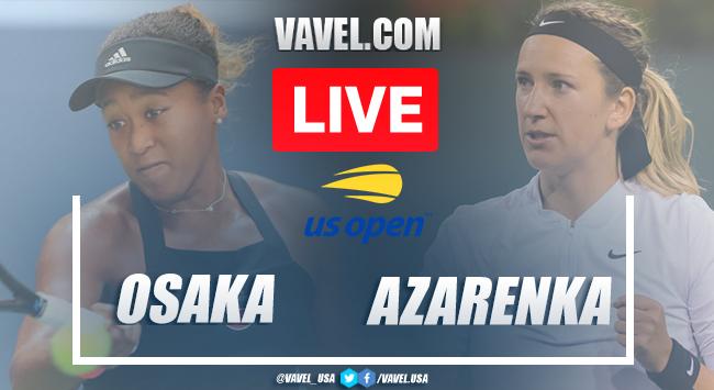 US Open: Naomi Osaka vs Victoria Azarenka