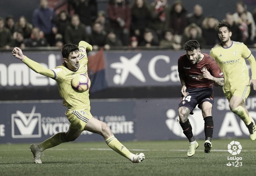Osasuna fastidió el comienzo del 2019