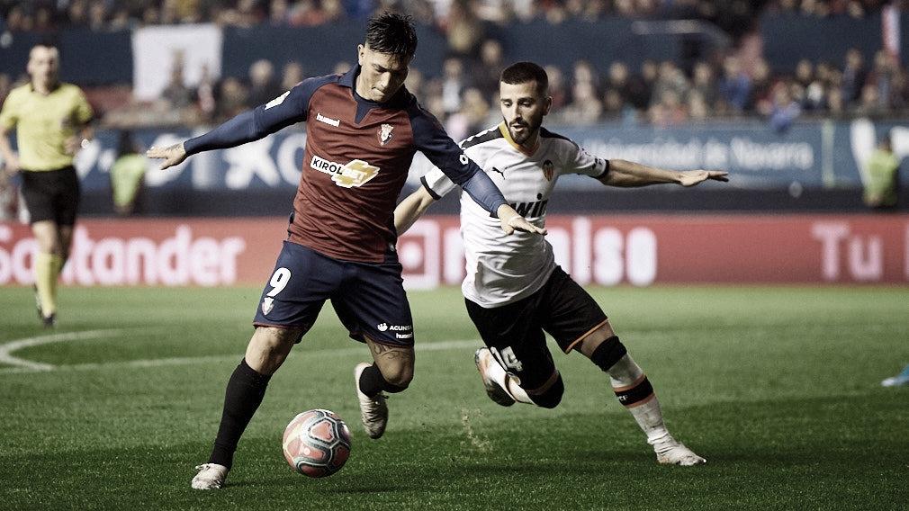 El Valencia buscará la victoria ante Osasuna