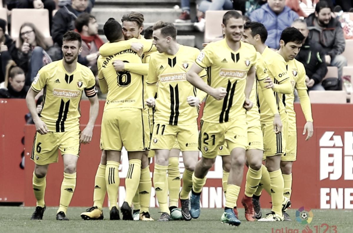 Resumen de la temporada 2017/2018: Osasuna, puntuaciones por posición que reflejan los resultados logrados