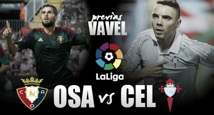 Previa Osasuna - Celta de Vigo: duelo de necesidades
