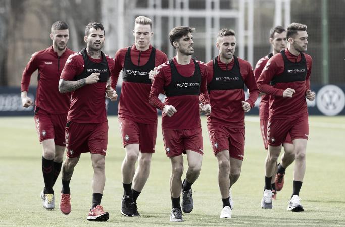 Osasuna afronta la semana con cuatro entrenamientos