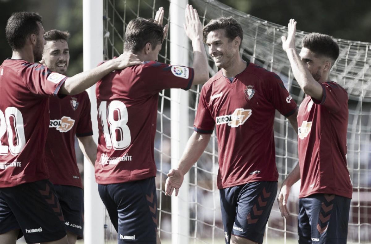 Táctica y formación Osasuna 2018/2019: un equipo diseñado para cumplir los objetivos