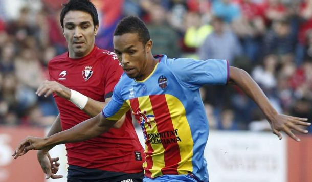 Resultado Osasuna - Levante en la Liga BBVA 2013 (0-1)