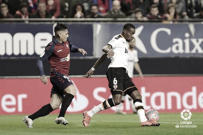 Horario y dónde ver el partido entre el Valencia y Osasuna