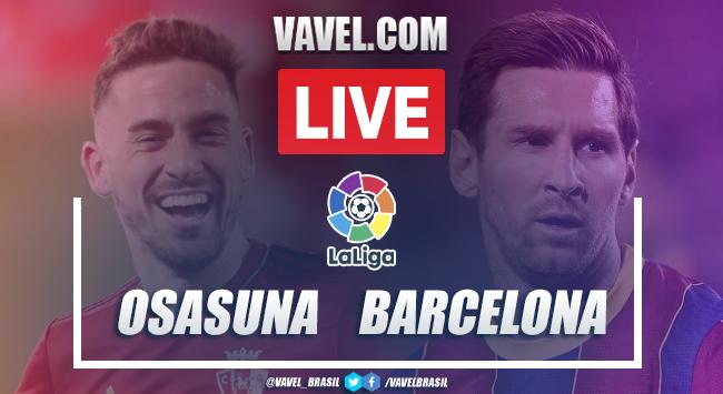 Gols e melhores momentos Osasuna 0x2 Barcelona pela LaLiga