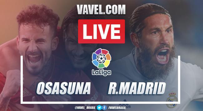 Melhores momentos de Osasuna 0-0 Real Madrid
