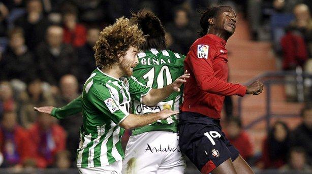 Osasuna y Betis empatan sin goles en un triste encuentro