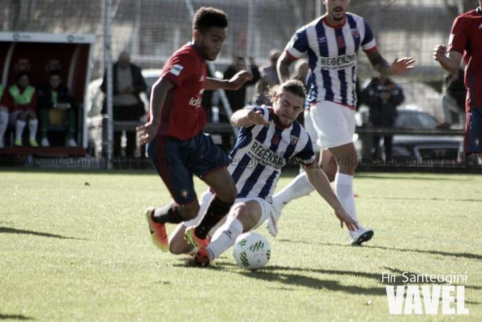 Osasuna Promesas e Izarra se olvidan del gol