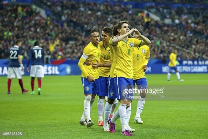 Oscar, Thiago Silva and three others make Selecao come-back
