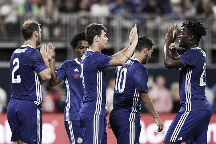 Oscar brilha, ofusca golaço de Bonaventura e comanda vitória do Chelsea sobre o Milan