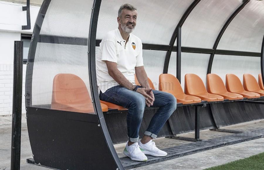 """Fernández: """"Mi deseo es que la plantilla del filial fuera un grupo de jugadores que creciera durante el año"""""""