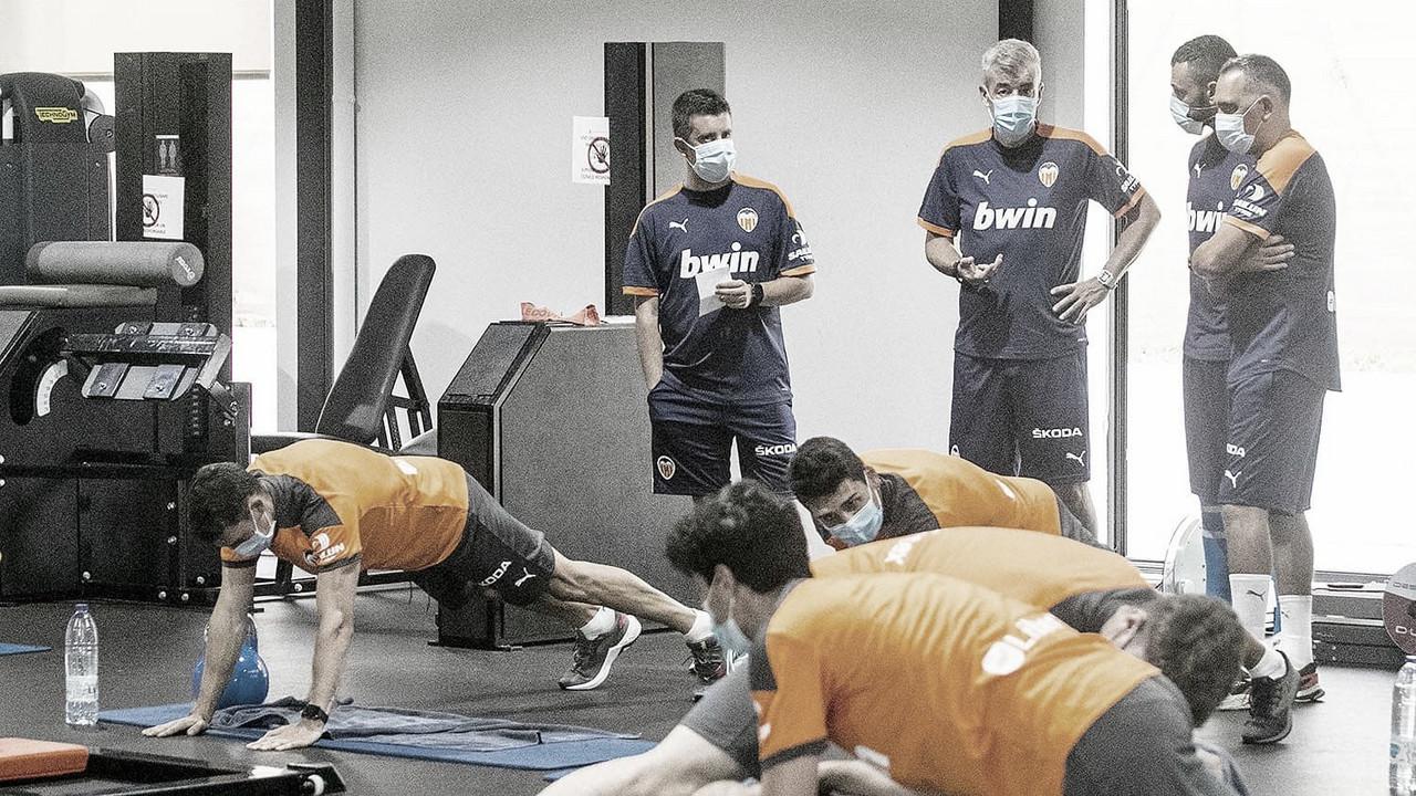 Óscar Fernández comienza a trabajar con el Valencia Mestalla