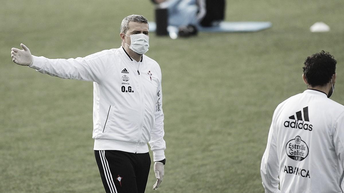 """Óscar García: """"Si nos precipitamos al volver, puede haber lesiones"""""""