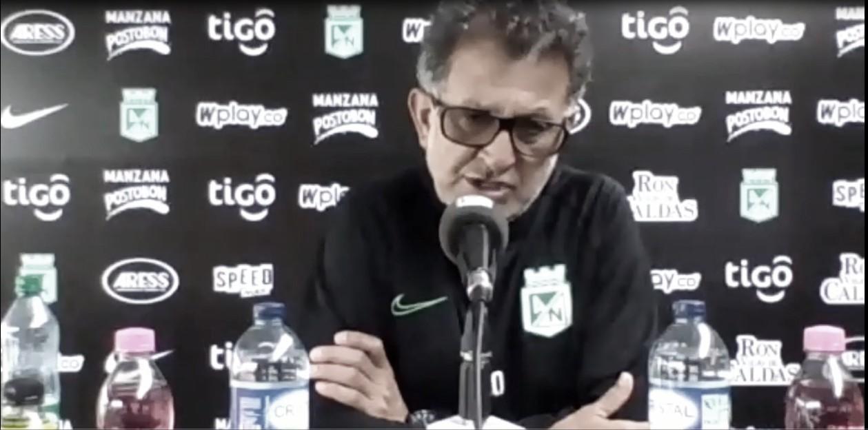 Juan Carlos Osorio en conferencia de prensa previo al juego ante Millonarios