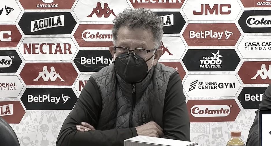 """Juan Carlos Osorio: """"Estamos progresando, mejorando y nos llevamos un punto muy importante"""""""