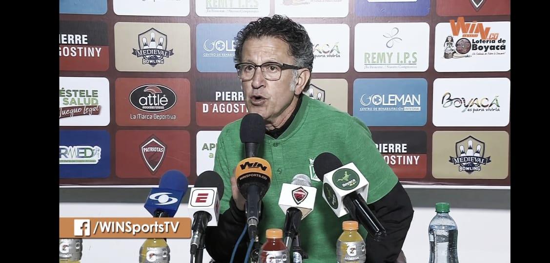 """Juan Carlos Osorio: """"El objetivo es consolidar una idea de juego"""""""