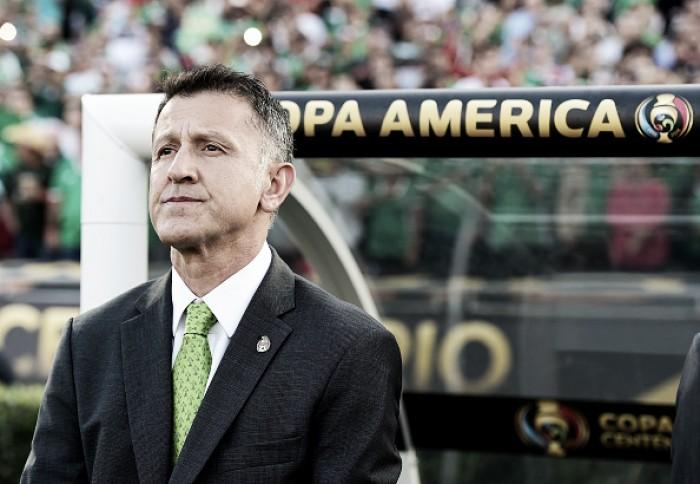 Osorio segue no comando do México após 7 a 0 na Copa América Centenário