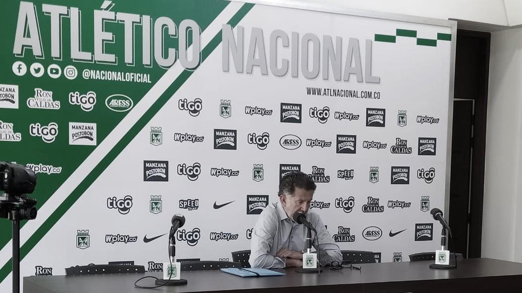 """Juan Carlos Osorio: """"Para el juego ante Chicó vamos a tener un equipo muy atlético y descansado"""""""