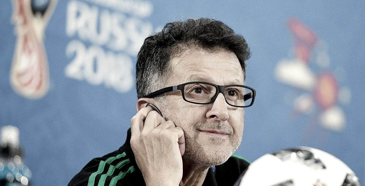 """Juan Carlos Osorio: """"México saldrá por los tres puntos"""""""