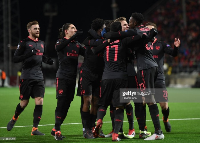 Ostersunds 0-3 Arsenal: Gunners outclass Swedish opposition with convincing win