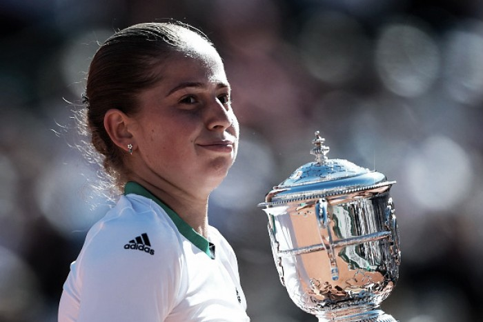 French Open: Jelena Ostapenko stuns Simona Halep to win her first Grand Slam title