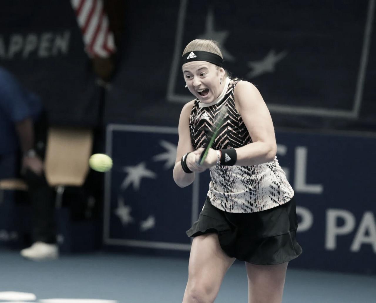 Ostapenko derrota Samsonova e vai em busca do bicampeonato em Luxemburgo