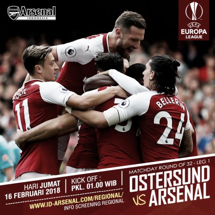 Resumen del Ostersunds 0-3 Arsenal en Europa League 2018