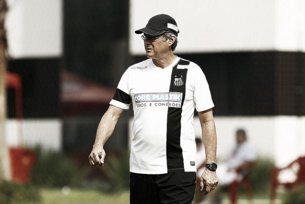 Oswaldo de Oliveira elogia Santos sem Damião, mas avisa que jogador deve voltar