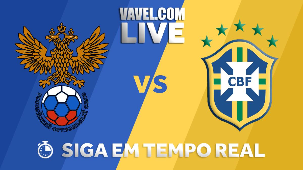 Resultado Brasil x Rússia AO VIVO agora (3-0)
