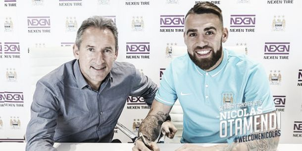 Manchester City complete £32.5m signing of Nicolás Otamendi