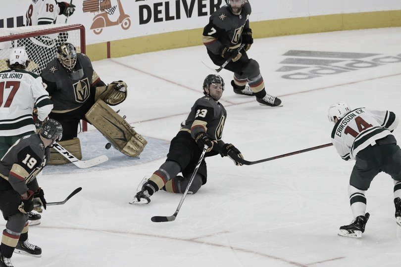 Vegas vuelve a chocar contra el muro de Minnesota, esta vez en playoff