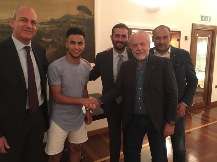Napoli, ufficiale l'arrivo di Adam Ounas dal Bordeaux