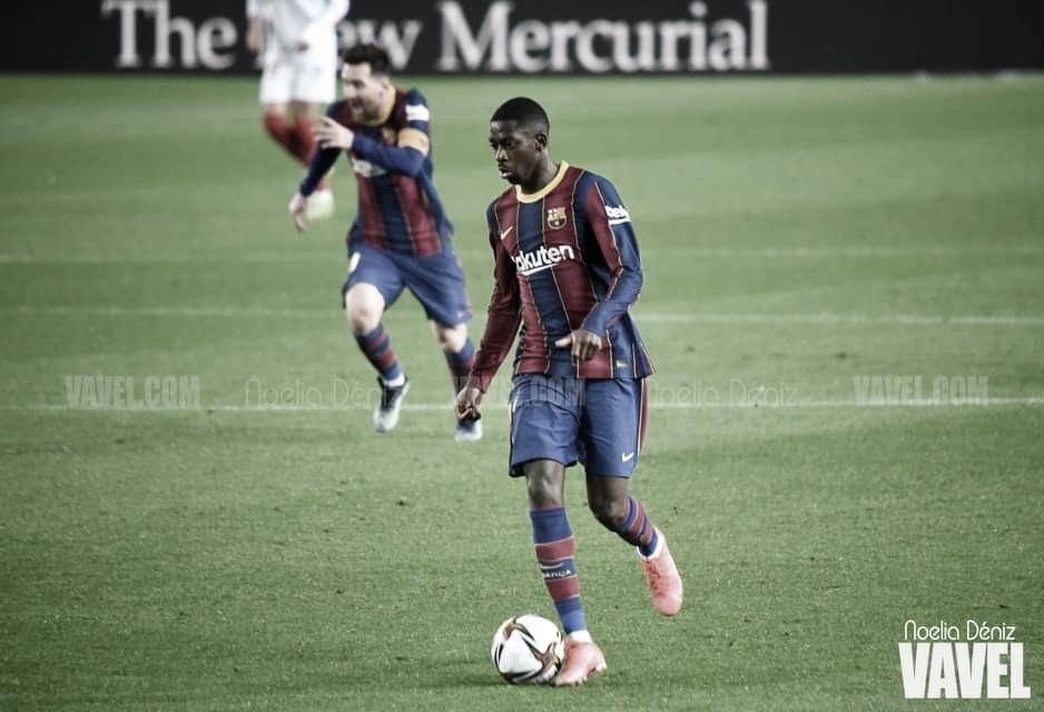 Dembélé se cae de la convocatoria para jugar contra el Getafe