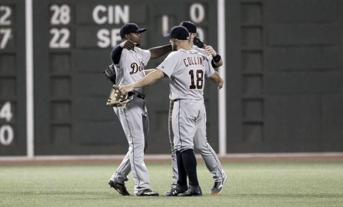 Tigers slip past Red Sox on run-scoring walk