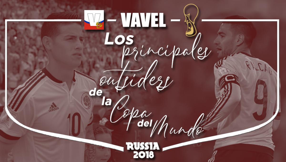 Las principales outsiders para la Copa del Mundo