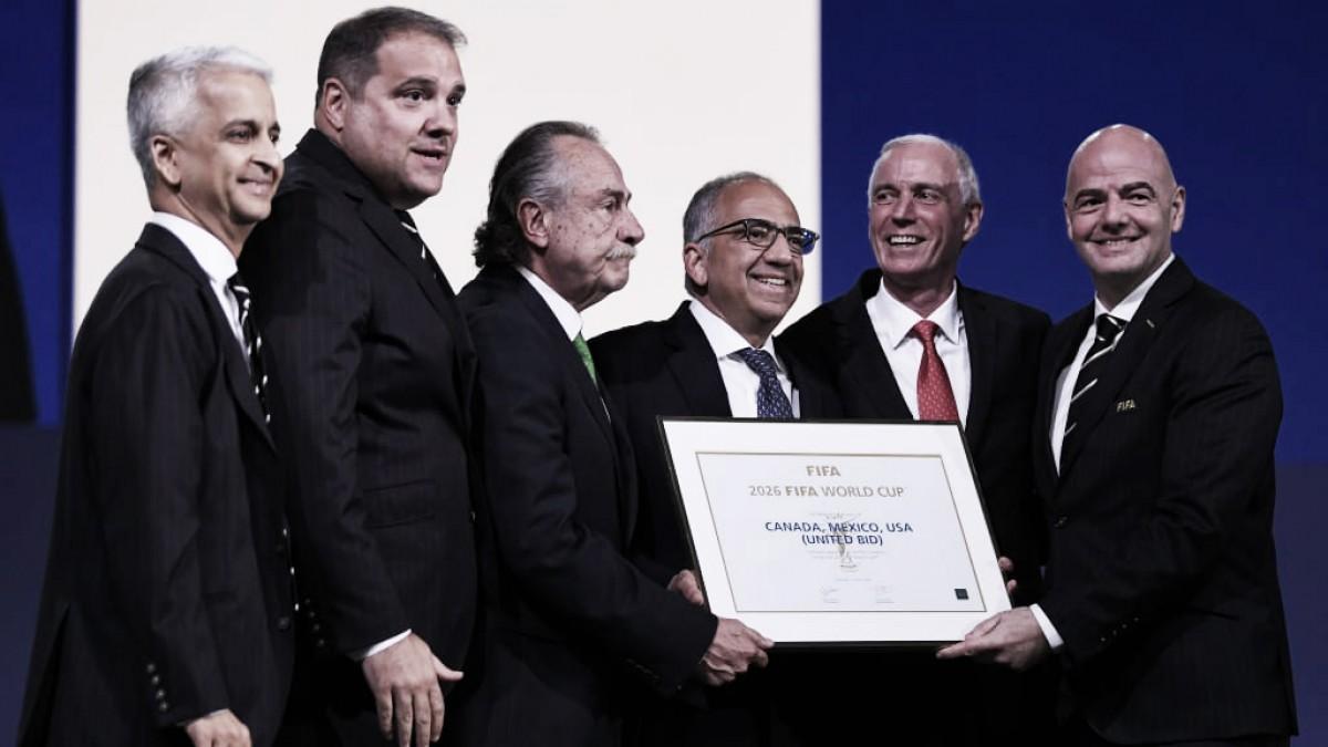 Tríplice aliança! Canadá, Estados Unidos e México são eleitos como países-sede do Mundial 2026