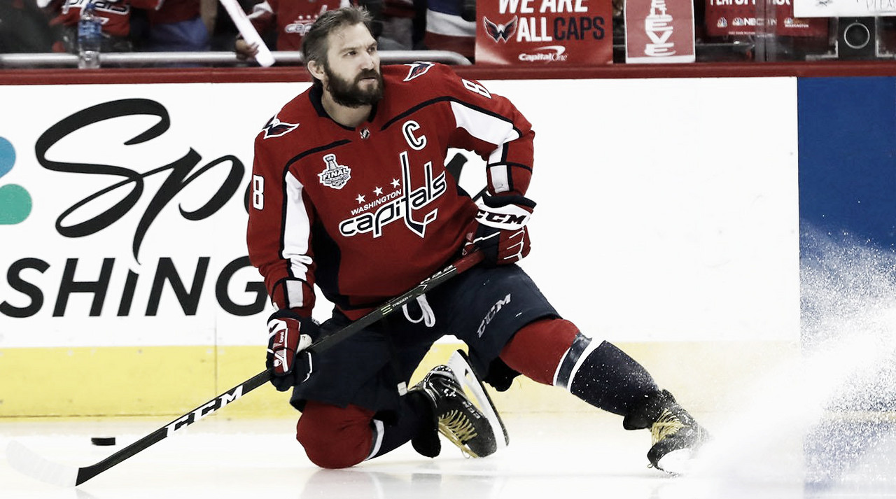 Ovechkin se convierte en el ruso con más puntos en la NHL